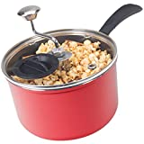Discontinued by Manufacturer Zippy Pop Red Stovetop Popcorn Popper...