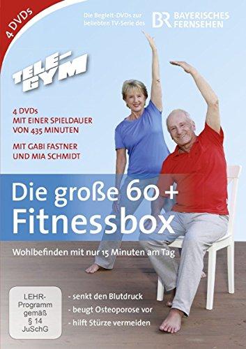 TELE-GYM Die große 60+ Fitnessbox [4 DVDs]