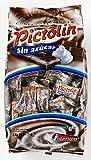 Pictolín Chocolate y nata sin azúcar - Caramelos de chocolate y nata sin azucares con edulcorantes - Bolsa de 1kg