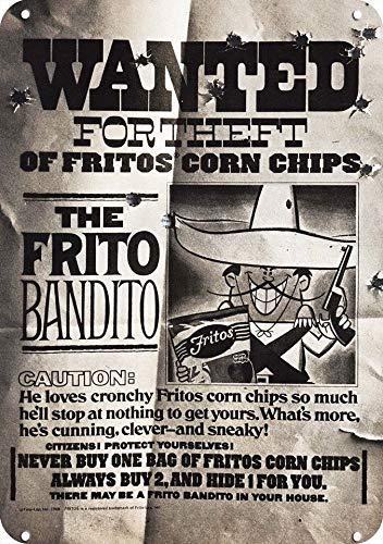 Yilooom 1968 Fritos Corn Chips Replica Metal Sign 7