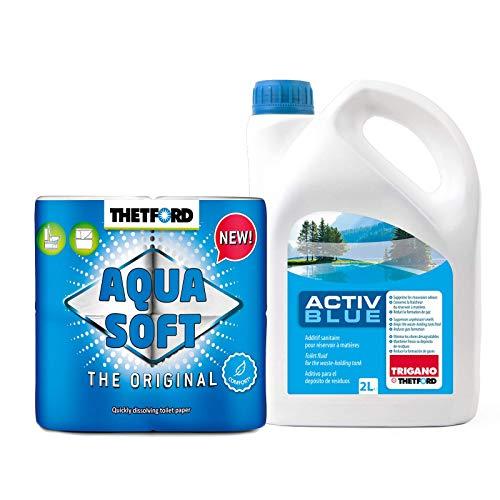 SET Thetford Activ Blue Toiletten Zusatz...