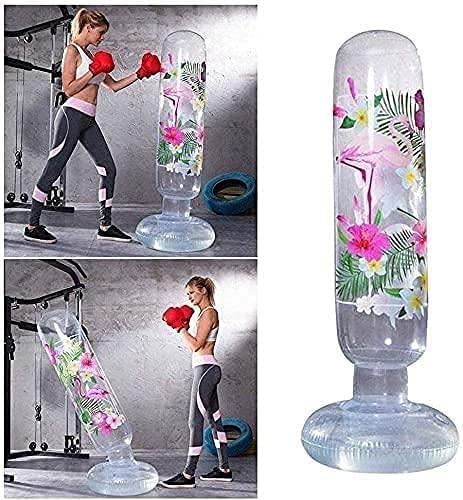 PGKCCNT Bolsa de perforación Columna de Boxeo de Fitness Adulto Ventilación 160 cm contra Juguetes inflables de los niños Vaso Vaso Vertical Bolsa de Arena