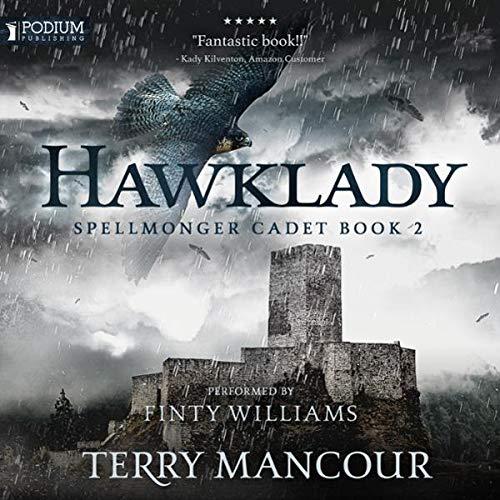 Hawklady audiobook cover art