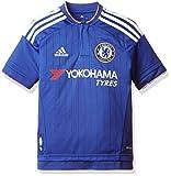 adidas CFC H JSY Y Camiseta-Hombre, Azul/Blanco/Rojo, 164