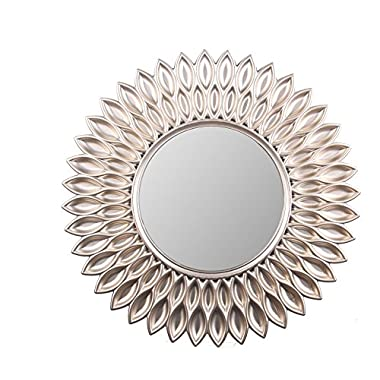 Wee's Beyond 2857-Champagne Sunflower Decorative Wall Mirror 23.5