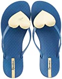 Ipanema Maxi Fashion II Fem, Chanclas Mujer, Multicolor (Blue/Gold 9218.0), 41/42 EU