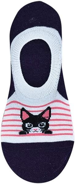 TOTOD Socks Clearance Women Girls Cotton Sock Non Slip Slippers Short Ankle Socks 1Pair Comfortable