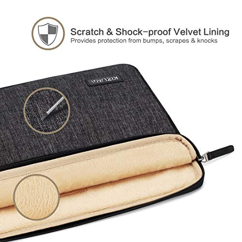 KIZUNA Notebook Tasche 12,5 Zoll Laptop Hülle Sleeve mit Griff Wasserdicht Schutzhülle Case Bag Etui Für 13
