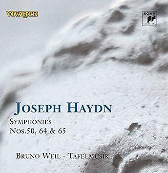 Haydn: Symphonies Nos. 50, 64 & 65