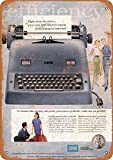 IBM Electric Typewriters Blechschild Retro Blech Metall