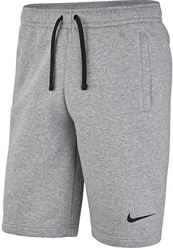 Nike Herren Park 20 Fleece Shorts, Dark Grey Heather/Black/Black, L