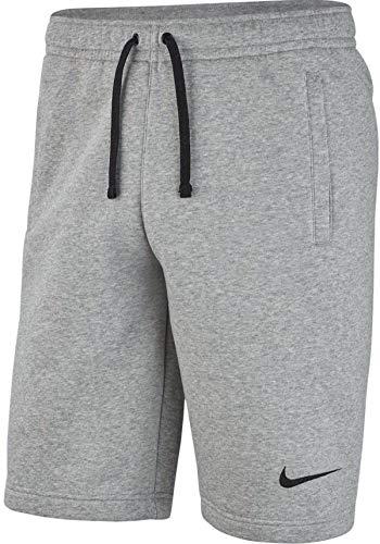 NIKE Park 20 Pantalones Cortos, Dk Grey Heather/Black/Black, 38 para Hombre
