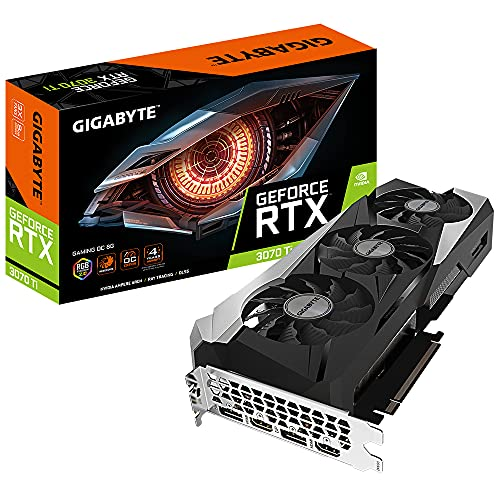Gigabyte GeForce RTX 3070 Ti GAMING OC - Scheda grafica da 8 GB