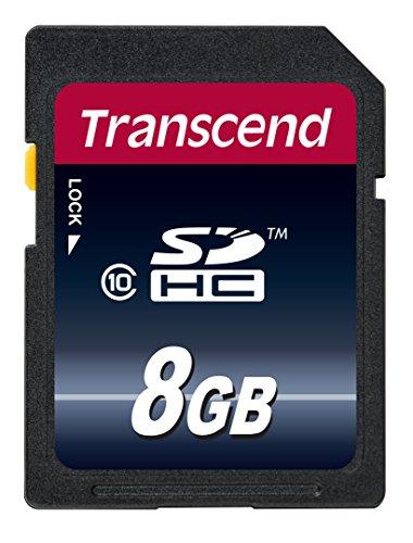 Transcend TS8GSDHC10 - Tarjeta de Memoria de 8 GB (Clase 10, 30 MB/s)