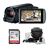 Canon VIXIA HF R800 Camcorder (Black) with 16GB SD Card and Accessory...