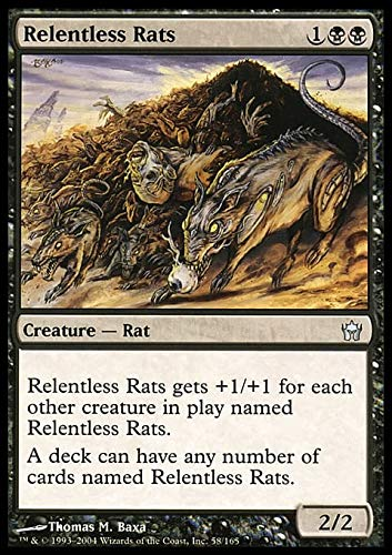 Magic: the Gathering - Relentless Rats - Fifth Dawn
