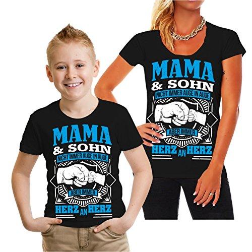 Spaß kostet Partnershirt Mama und Sohn Größe XS - XL & 98-164