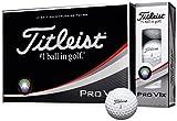 TITLEIST(タイトリスト) ゴルフボール Pro V1X 4ピース(ローナンバー) 12個入り ホワイト T2045S-J