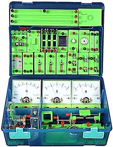 ZDSKSH STEM Physik Elektrizität Und Magnetismus Experimente Wissenschaftslabor Grundlegende Schaltungslern Starter Kit Für Kinder, Junior, Senior High School Schüler Elektromagnetismu