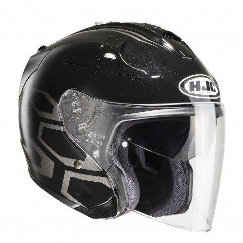 HJC Helmets 1656_20286 Casque Moto-HJC FG-Jet DUKAS MC5-XS Hommes, Noir, XS