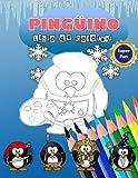 LIBRO DE COLOREAR PINGÜINOS: Cute Penguin Do Cosplay traje súper divertido libro relajante para niños y adultos , Actividad infantil Libro para niños ... para pingüinos amante Estrés-alivio