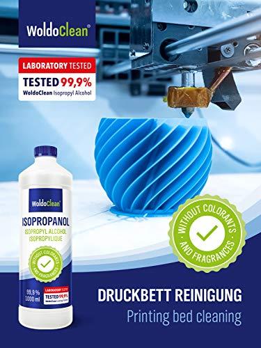 Isopropanolo Alcool Puro al 99.9% Isopropilico Detergente - IPA 1 litro