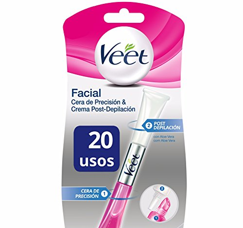Veet Lapiz Facial Cera de Precisi贸n & Crema Post-depilaci贸n - 20 gr
