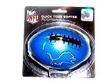 NFL Detroit Lions Kids Quick Toss Softee Football, Blue, Small