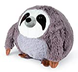 COZY NOXXIEZ Kuschelige Plüsch Kinder Handwärmer - Kuscheltier, Stofftier, Kopfkissen als Flauschiges Wärmekissen Plüschtier für Bett, Auto und Zuhause (Sloth)