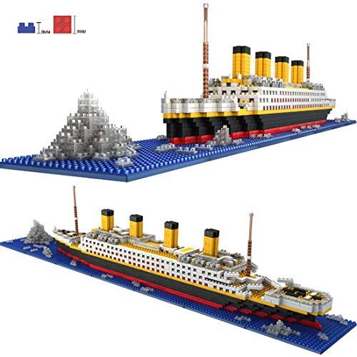 3D Modell Puzzle 1860 Titanic Model Building Puzzle Kit,wood