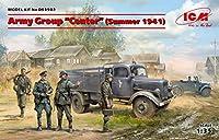 ICM 1/35 ドイツ中央軍集団 (1941年夏) セット プラモデル DS3502