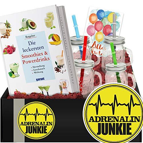 Adrenalinjunkie - Do It Yourself Set Gesundheit - Geschenk für Ihn Geburtstag