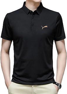 Ademend Sport T-Shirt,Beste voor Sport T-Shirt,Mannen Polo Korte Mouw Shirt Business Casual T-shirt met korte mouw
