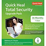 """Important This is a Renewal Key. An existing quick healSINGLE USERsubscription except trial version needs to be already Installed in your pc/system After ordering, for activation code check 'Buyer/Seller messages' under message center at """"amazon.in..."""