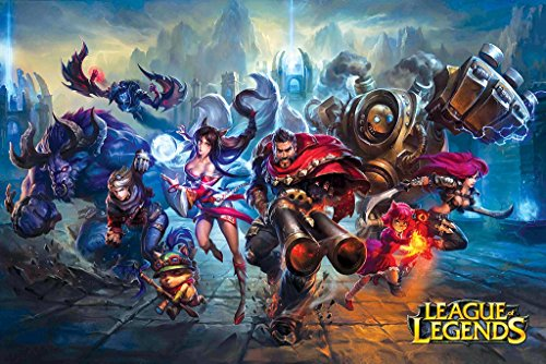 League of Legends II - Game Poster 24in x 36in