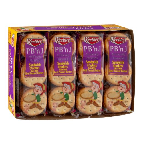 Keebler Cracker Sandwiches To Go - Jelly Peanut 1.38 Butter free Max 66% OFF shipping