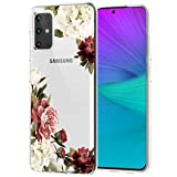 Ueokeird Designed for Samsung Galaxy S20 Plus Case/Galaxy S20+ Case, Slim Shockproof Clear Soft Flexible TPU Back Phone Case Cover for Samsung Galaxy S20 Plus 5G (Blossom Flower)