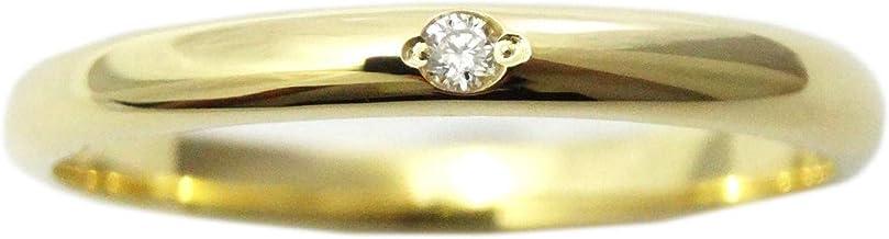 K18 PT 甲丸 ダイヤモンド リング 指輪 ファランジ ミディリング 18金 プラチナ 850 刻印 無料 (プラチナ, 12)