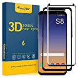 Galaxy S8 Screen Protector Tempered Glass, Elecshion 3D Curved...