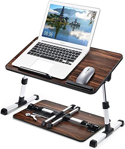 ZOUSHUAIDEDIAN Riser portátil portátil, escritorio de computadora multifuncional plegable, conversión de mesa de pie de altura ajustable, estaciones de trabajo de levantamiento compacto y soportado, n