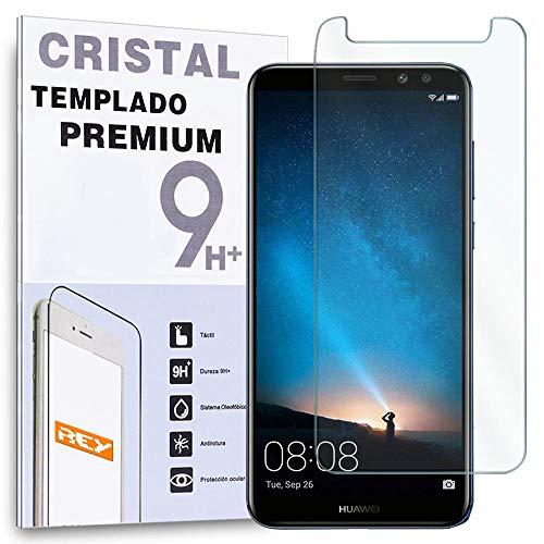 REY Protector de Pantalla para Huawei Mate 10 Lite/Honor 9i / G10 / MAIMANG 6, Cristal Vidrio Templado Premium
