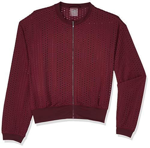 Preisvergleich Produktbild PUMA Damen Luxe Jacke,  Violett (Fig)