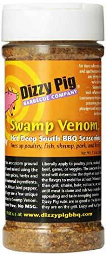 Dizzy Pig BBQ Swamp Venom Rub Spice - 7.4 Oz