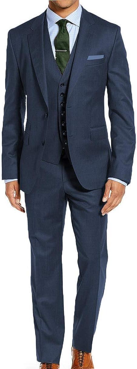 STACY ADAMS Mens Big & Tall 64 66 68 70 72 3 Pc Dress Suit