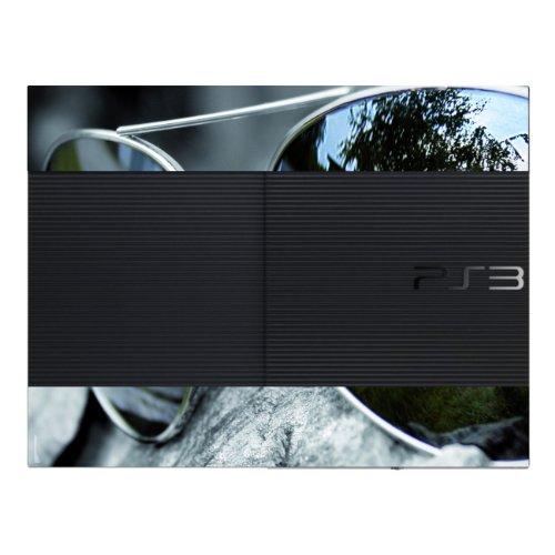 Disagu Design Skin für Sony PS3 Ultra Slim + Controller - Motiv Auto in Sonnenbrille
