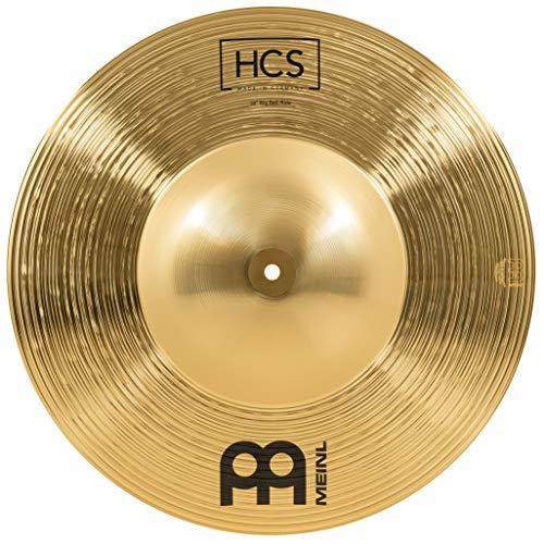 Meinl Cymbals HCS 18 Zoll Big Bell Ride Becken für Schlagzeug – Messing, traditionelles Finish (HCS18BBR)