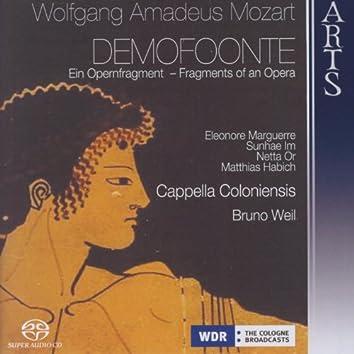 Mozart: Demofoonte - Fragments Of An Opera