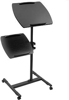 Cablematic - Carrito para proyector y notebook con 4 ruedas