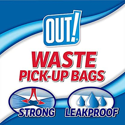 OUT! Dog Poop Bags | Strong, Leak Proof Dog Waste Bags | 9 x 12 Inches, 750 Rainbow Bags 4