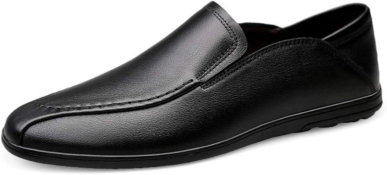 XSY2 Herrenschuhe Casual Flache Slipper Frühling Herbst Komfort Slipper & Slip-Ons Business Faule Schuhe